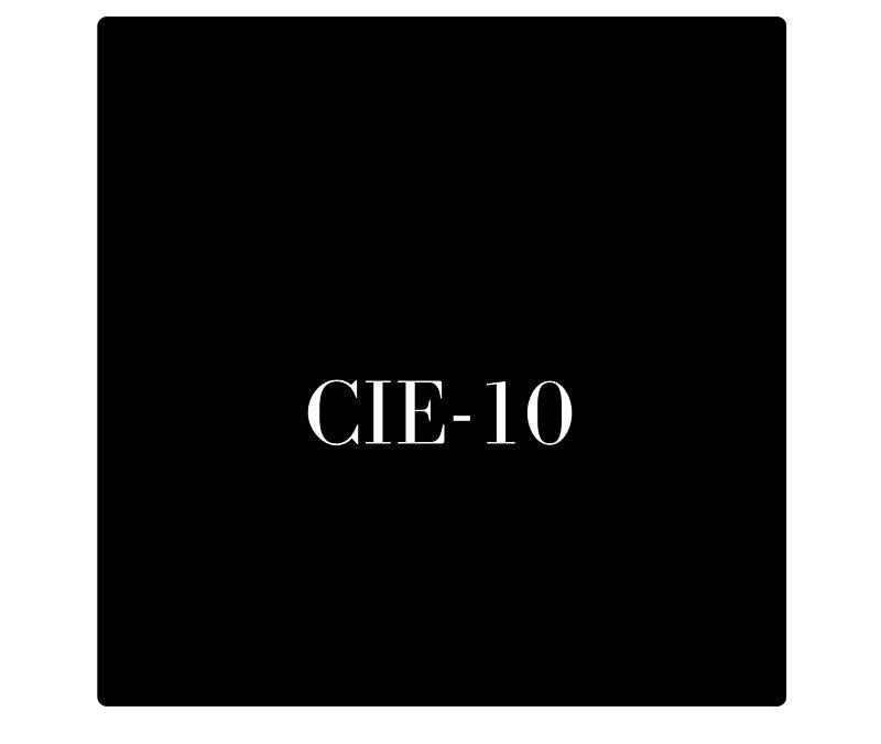 La Clasificación Internacional de Enfermedades (CIE-10)