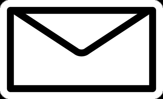 carta de email marketing